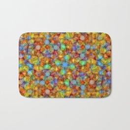 Bubbly Colours Pattern Bath Mat