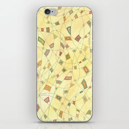 Interwoven Lives iPhone Skin