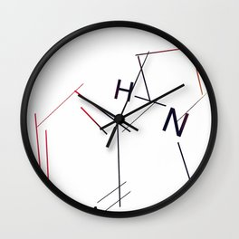 Nicotine Wall Clock