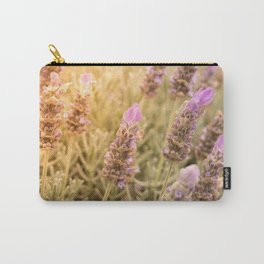 Lavender and Sunshine Carry-All Pouch