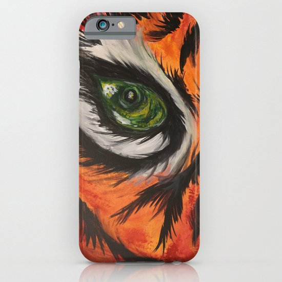 Eye of the Tiger iPhone & iPod Case