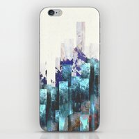 cities iPhone & iPod Skins featuring Cold cities by HappyMelvin