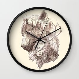 Close to nature Wall Clock