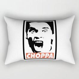 Get To Da Choppa Rectangular Pillow