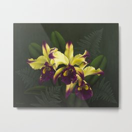 Good as Gold Metal Print