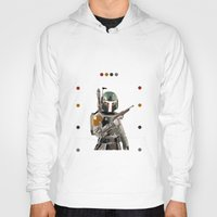 boba fett Hoodies featuring Boba Fett  by Jared Cady