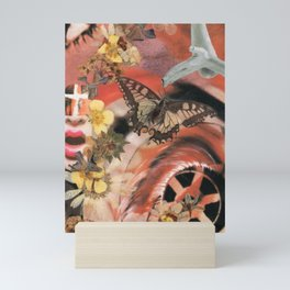 Earthly connection... Mini Art Print