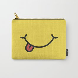 Smile art yellow Carry-All Pouch