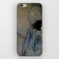 imagerybydianna iPhone & iPod Skins featuring dreaming in tennyson's tower by Imagery by dianna