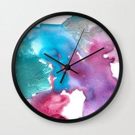 Purples 2 Wall Clock