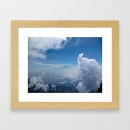 Mt Kilimanjaro Framed Art Print
