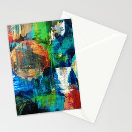 Deep Space Realm Stationery Cards