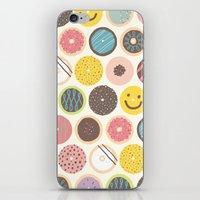 donuts iPhone & iPod Skins featuring DONUTS! by JONGMEE