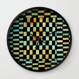 Rect Opt Wall Clock