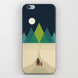Long Journey iPhone Skin