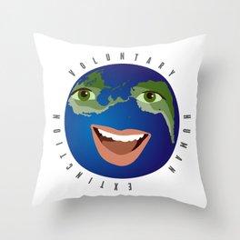 voluntary human extinction | part i Throw Pillow