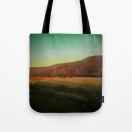 Autumn in the stone forest Tote Bag