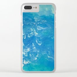 Waves 808-0 Clear iPhone Case