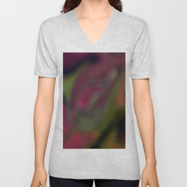 Abstract 149 Unisex V-Neck