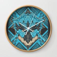 Hunting Club: Azure Rathalos Wall Clock