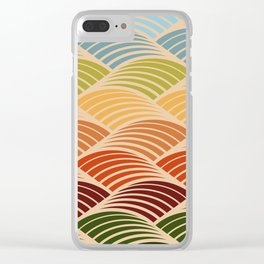 Tuscan Landscape Clear iPhone Case