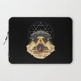 Alien Abduction Anunnaki Space Egyptian Pyramids Laptop Sleeve