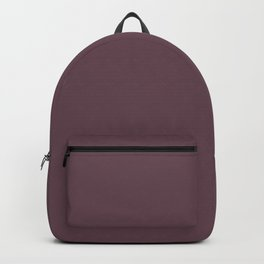 Dark Plum, Solid Color Collection Backpack