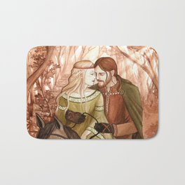 Tristan and Isolde Bath Mat