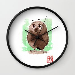 Petite Chouette Wall Clock