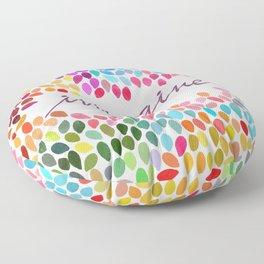 Imagine [Collaboration with Garima Dhawan] Floor Pillow