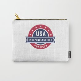 Independence Day 4th of July America USA Carry-All Pouch