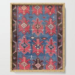 Davaghin Daghestan Northeast Caucasus Kilim Print Serving Tray