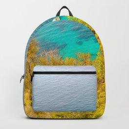 Golden Blue Cap d'Ail Backpack