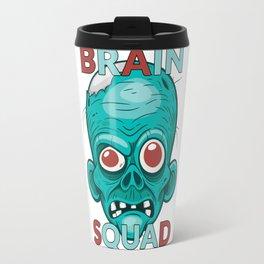 Brain Squad Gang style Graphic Travel Mug