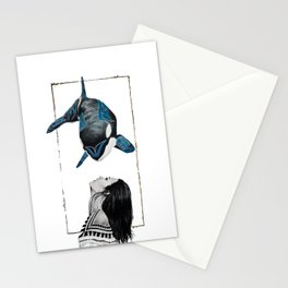 Haida Orca Stationery Cards