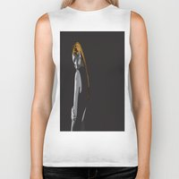 lonely Biker Tanks featuring Lonely by dunstanvassar