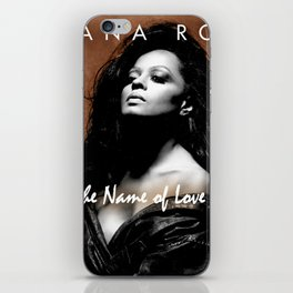 DIANA ROSS THE NAME OF LOVE TOUR 2019 KRIPTON iPhone Skin