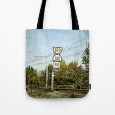 100 100 90 Tote Bag