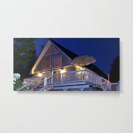 House by the Lake Metal Print