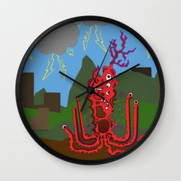 Bad Night Wall Clock