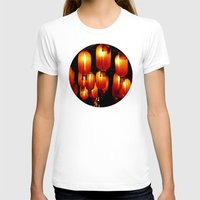 lanterns T-shirts featuring chinese paper lanterns by kanpai