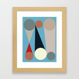 Mid Century Modern Vintage 15 Framed Art Print