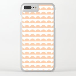 BREE ((melon)) Clear iPhone Case