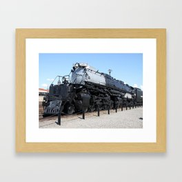 Union Pacific Big Boy Framed Art Print