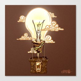 Aerostatic Bulb Canvas Print