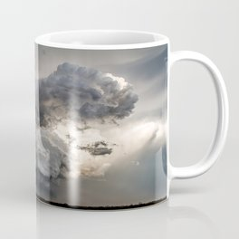 Fist of Fury - Storm Packs a Punch Over Oklahoma Plains Coffee Mug