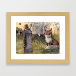 "Le Petit Prince ""Tame"" Framed Art Print"
