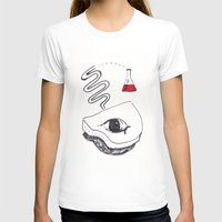 chemistry T-shirts featuring Piano Chemistry by Marcus Bichel Lindegaard