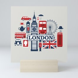 London Mini Art Print