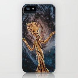 Baby Grooot (fanart) iPhone Case